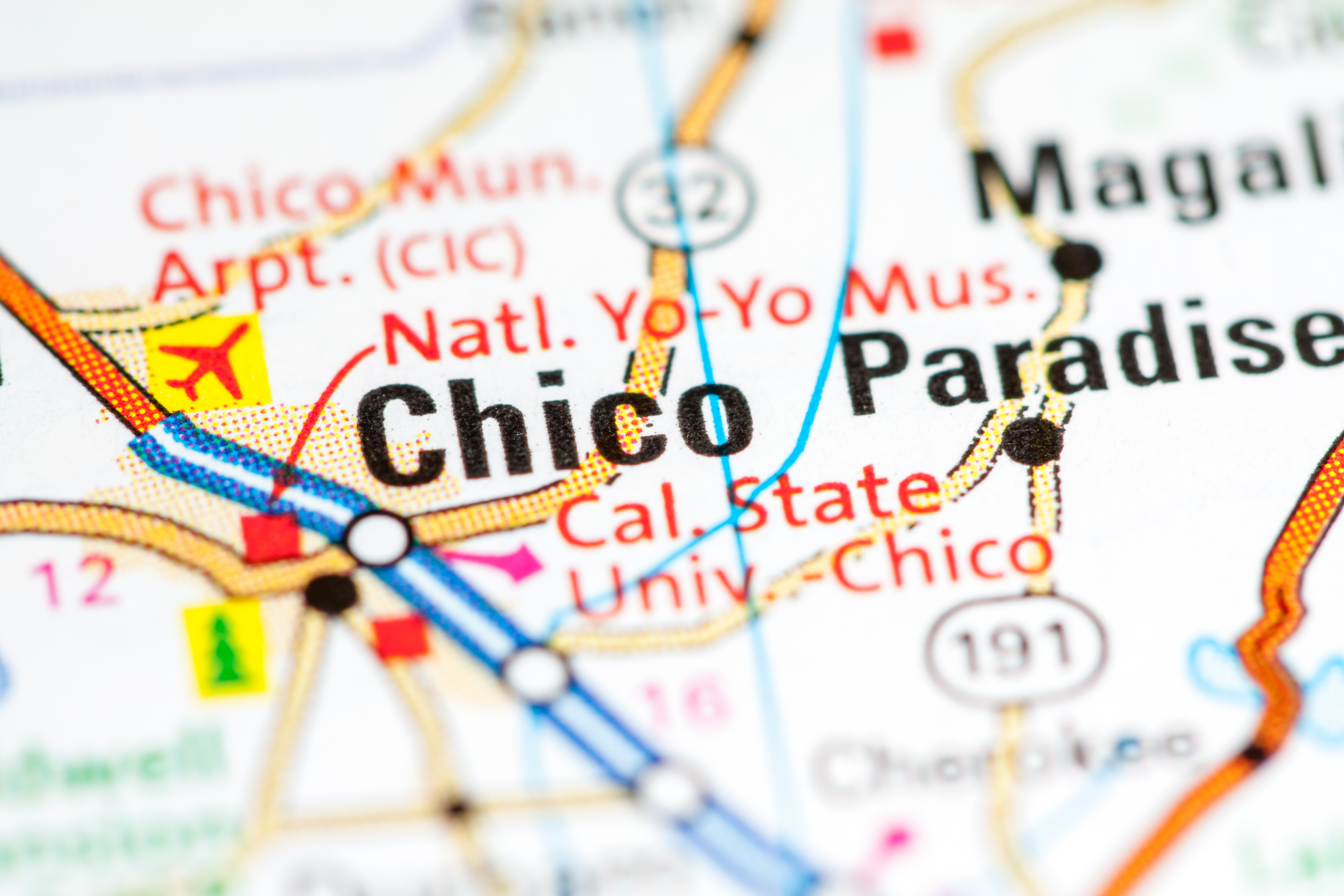 Chico on the Map